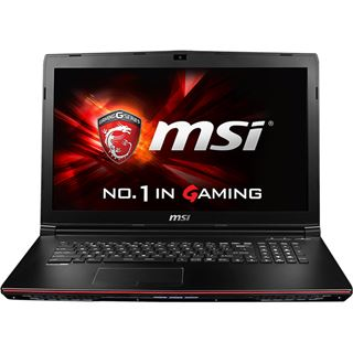 "Notebook 17.3"" (43,94cm) MSI GP72 2QE Leopard Pro - GP72-2QDi581FD"