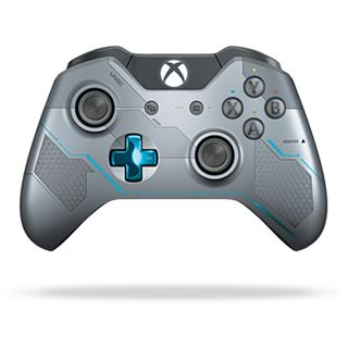 Microsoft Xbox One Wireless Controller Halo 5: Guardians Limited Edition grau/silber XBOX One