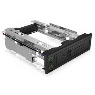 ICY BOX IB-166SSK Wechselrahmen für SATA/SAS Festplatten (16802)