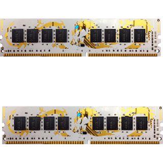 8GB GeIL white Dragon DDR4-2400 DIMM CL14 Dual Kit