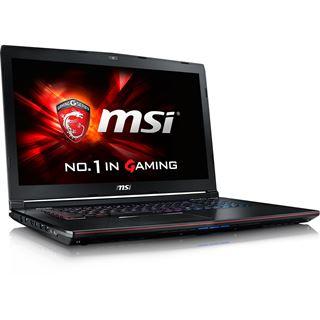 "Notebook 17.3"" (43,94cm) MSI GE72-6QF81FD Apache Pro"