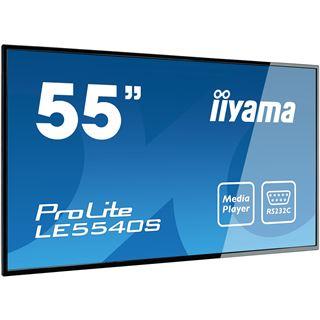 "55"" (139,70cm) iiyama ProLite LE5540S-B1 schwarz 1920x1080 1xDVI"