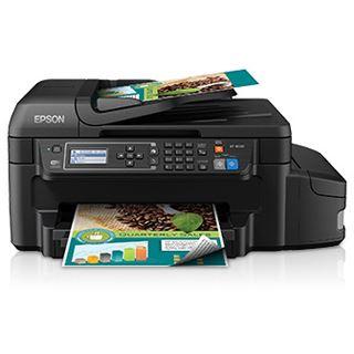 Epson EcoTank ET-4550 Tinte Drucken / Scannen / Kopieren / Faxen Cardreader / LAN / USB 2.0 / WLAN