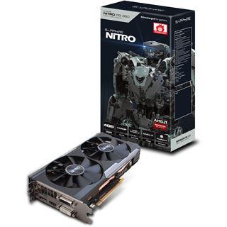 4GB Sapphire Radeon R9 380 Nitro inkl. Backplate Aktiv PCIe 3.0 x16 (Lite Retail)