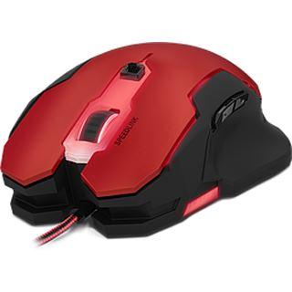 Speedlink SVIPA Gaming USB rot/schwarz (kabelgebunden)