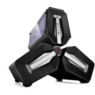 Deepcool Tristellar mit Sichtfenster Mini-ITX ohne Netzteil schwarz
