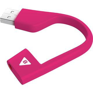 8 GB EMTEC Hook pink USB 2.0