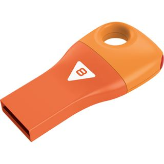 8 GB EMTEC Car Key D300 orange USB 2.0