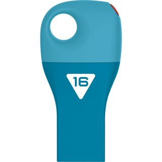 16 GB EMTEC Car Key D300 blau USB 2.0