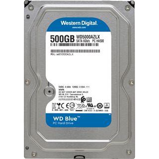 """500GB WD Blue WD5000AZLX 32MB 3.5"""" (8.9cm) SATA 6Gb/s"""