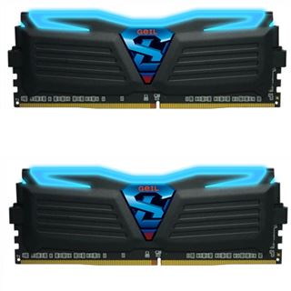 16GB GeIL Super Luce blau DDR4-3000 DIMM CL15 Dual Kit