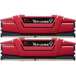 32GB G.Skill RipJaws V rot DDR4-3000 DIMM CL15 Dual Kit
