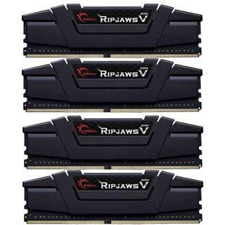 64GB G.Skill RipJaws V schwarz DDR4-3200 DIMM CL16 Quad Kit