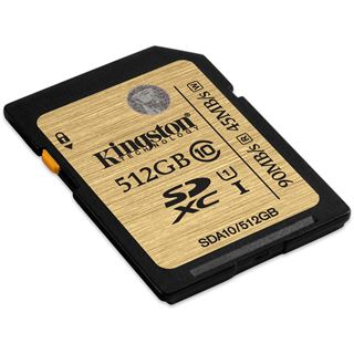 512 GB Kingston Ultimate SDXC Class 10 Retail