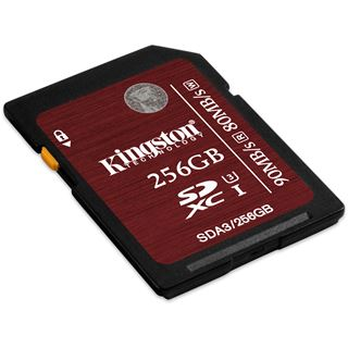 256 GB Kingston SDXC Class 10 U3 Retail