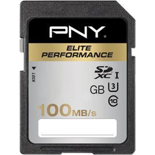 256 GB PNY Elite Performance SDXC Class 10 Retail
