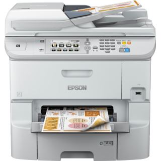 Epson WorkForce Pro WF-6590DWF Tinte Drucken / Scannen / Kopieren / Faxen LAN / USB 2.0 / WLAN