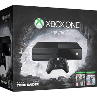 Microsoft Xbox One - 1TB, Rise of the Tomb Raider Bundle, schwarz