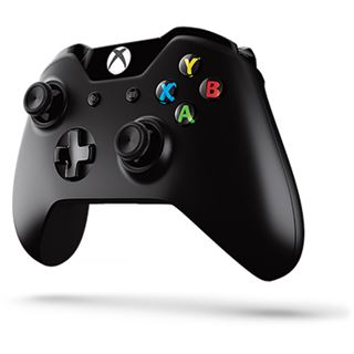 Microsoft Xbox One Wireless Controller mit Wireless Adapter schwarz