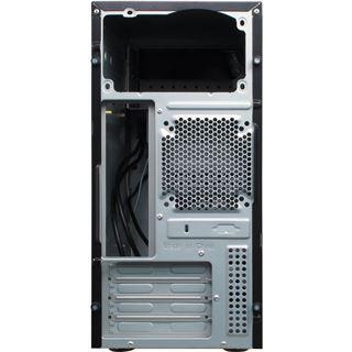 Inter-Tech GM-6019 Mini Tower ohne Netzteil schwarz