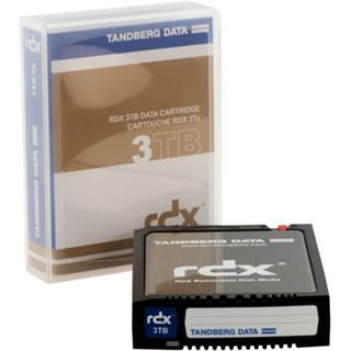 3000GB Tandberg Data RDX Kassette