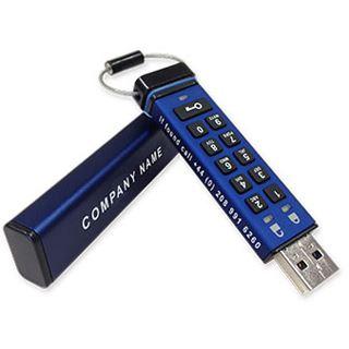 16 GB iStorage datAshur Pro blau USB 3.0