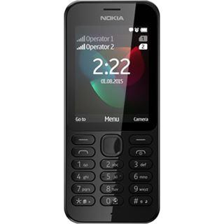 Nokia 222 Dual-SIM schwarz