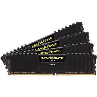 32GB Corsair Dominator Vengeance LPX DDR4-2400 DIMM CL16 Quad Kit
