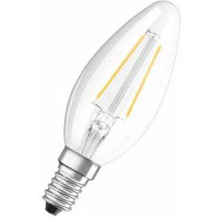 Osram LED RF Classic B 23 2W/827 FIL Klar E14 A++