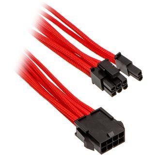 Phanteks 6+2 Pin PCIe Verlängerung 50cm sleeved rot
