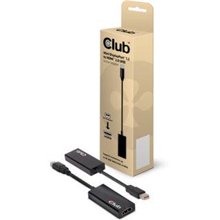 Club3D Adapter MiniDisplayPort > HDMI 2.0 3D aktiv