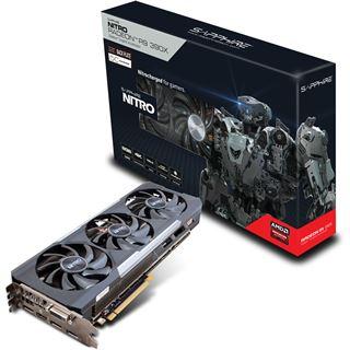 8GB Sapphire Radeon R9 390X Nitro inkl Backplate Aktiv PCIe 3.0 x16 (Lite Retail)