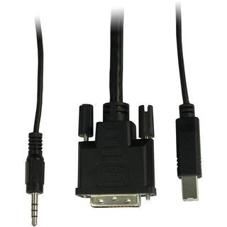 Inter-Tech AS-21DA DVI KVM Switch