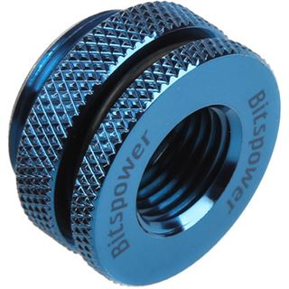 Bitspower Wasser-Einfüll-Öffnung 1/4 Zoll blau
