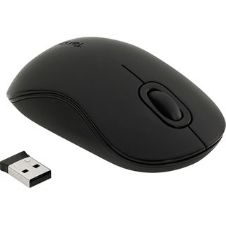 Targus Wireless Optical Mouse USB schwarz (kabellos)