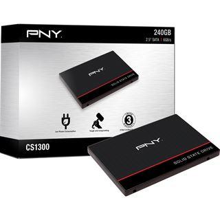 """240GB PNY CS1311 2.5"""" (6.4cm) SATA 6Gb/s TLC Toggle"""