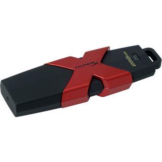 256 GB HyperX Savage schwarz/rot USB 3.1