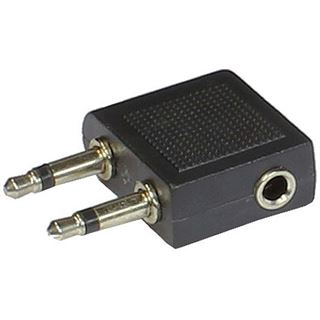 Good Connections Audio Adapter 2 x 3,5mm Mono Stecker an 3,5mm Stereo