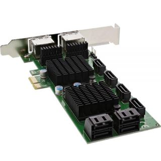 InLine 76617F 8 Port PCIe 2.0 x1 Low Profile retail
