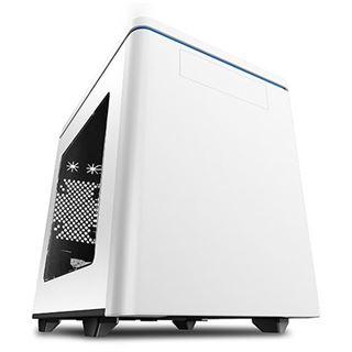 Raidmax Hyperion mit Sichtfenster Mini-ITX ohne Netzteil weiss