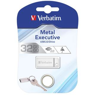 32 GB Verbatim Metal Executive silber USB 2.0