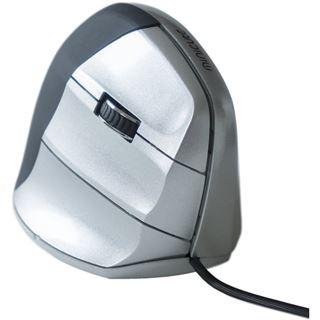 R-GO Tools Minicute EZ Evolution v5 Rechts USB schwarz/silber (kabelgebunden)