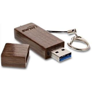 8 GB InLine woodline Walnuss braun USB 3.0