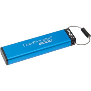 32 GB Kingston DataTraveler 2000 blau USB 3.0