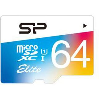 64 GB Silicon Power Elite SD Class 10 U1 Retail inkl. Adapter auf SD
