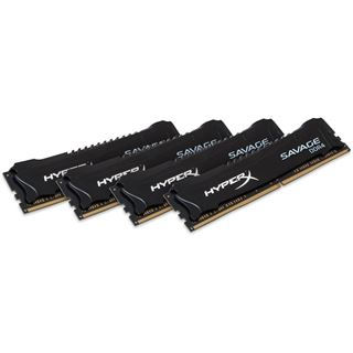 32GB HyperX Savage Rev. 2.0 DDR4-2666 DIMM CL13 Quad Kit