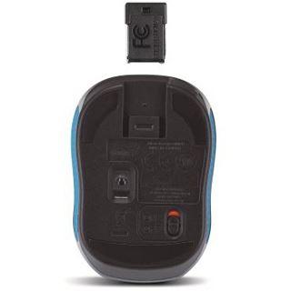 Genius Micro Traveler 9000R USB schwarz/blau (kabelgebunden)