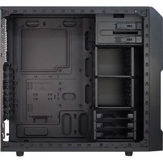 Inter-Tech EM-01 Midi Tower ohne Netzteil schwarz