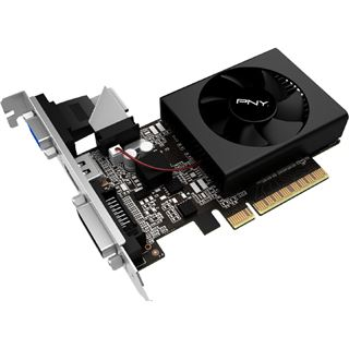 2GB PNY GeForce GT 710 Aktiv PCIe 2.0 x 8 (Retail)