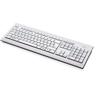 Fujitsu KB521 USB Deutsch weiß (kabelgebunden)